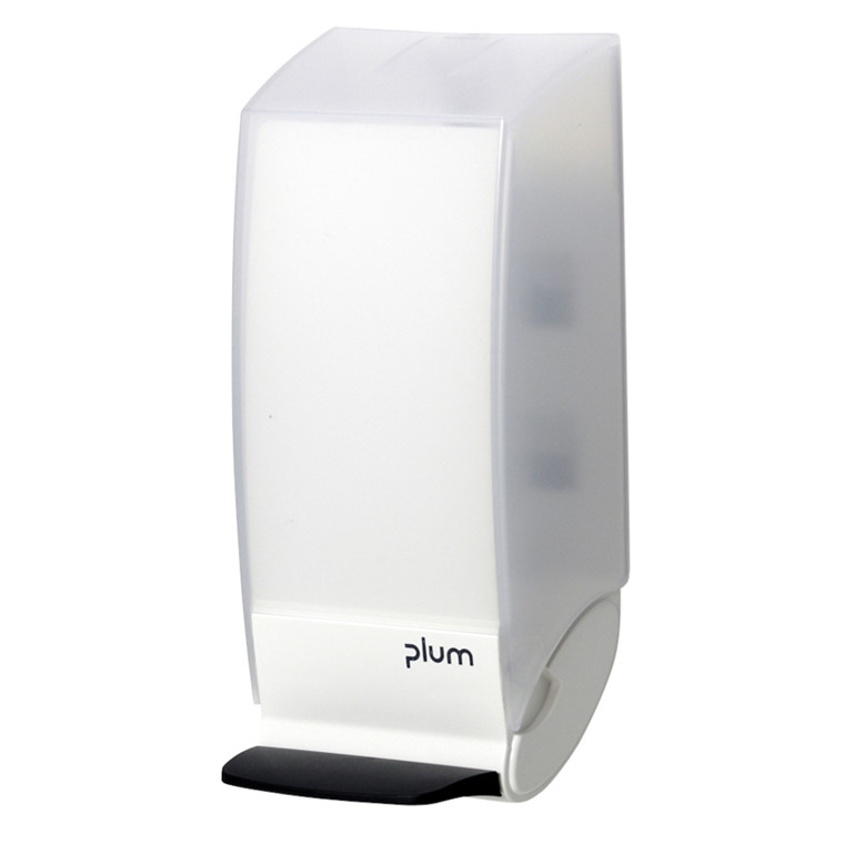 Dispenser, Plum Combiplum, hvid, 500 ml,