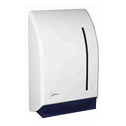 Dispenser, Satino, til håndklædeark, hvid,