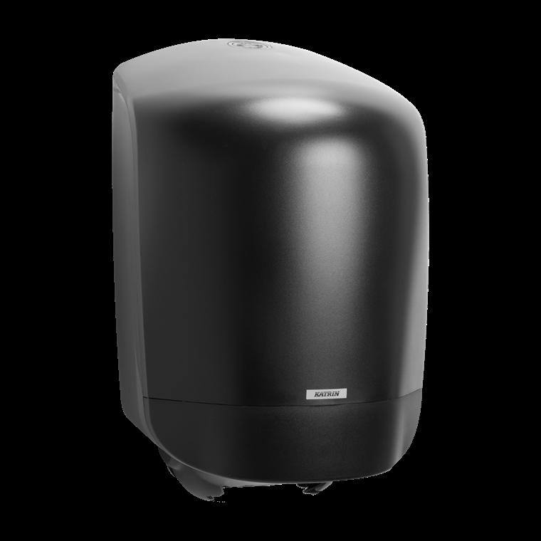 Katrin 92124 Centerfeed M Dispenser til aftørringspapir - Sort plast