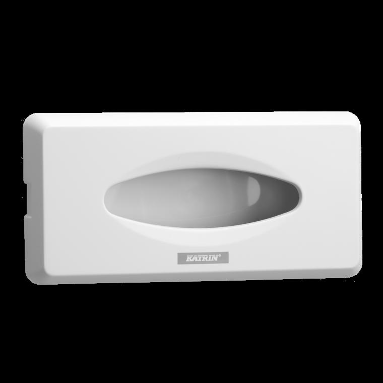 Katrin 92629 Facial Tissue Dispenser - Til ansigtsservietter - Hvid plast