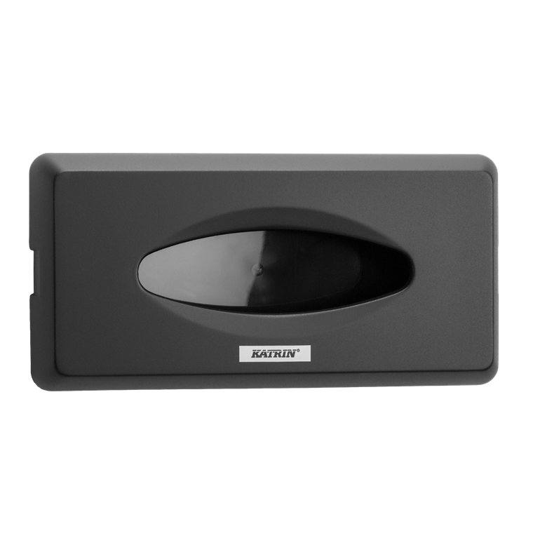 Katrin 104476 Facial Tissue Dispenser - Til ansigtsservietter - Sort plast