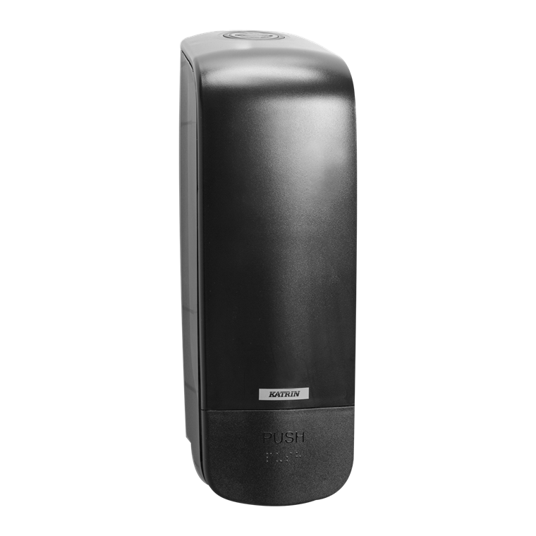 Katrin 92209 Soap Dispenser 1000 ml til sæbe & foam - Sort plast