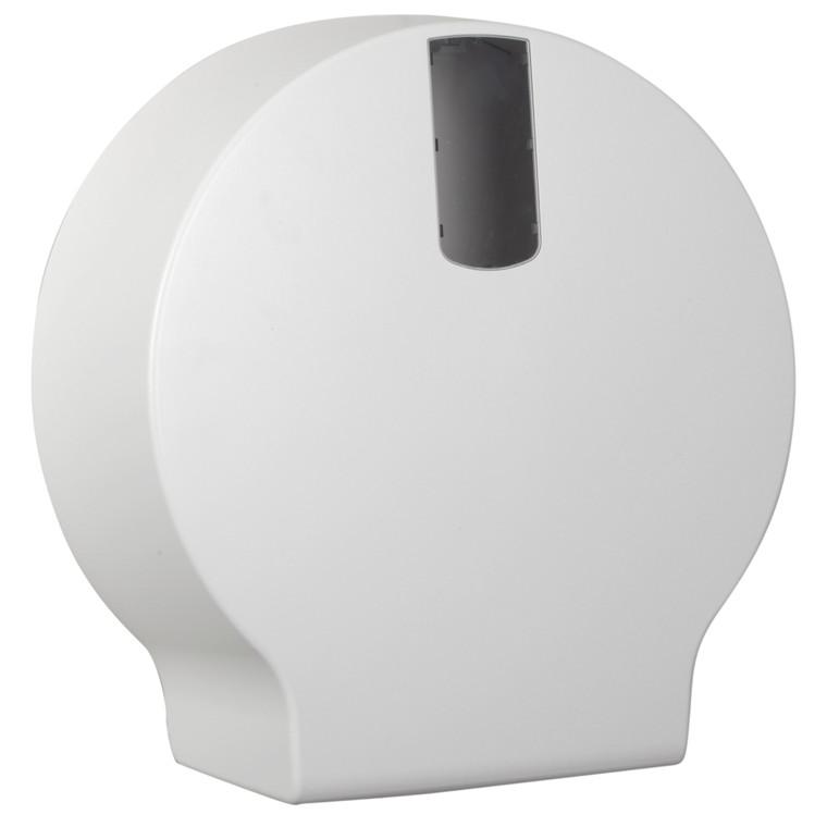 Dispenser, White Classic, til midi jumbo toiletruller, midi,