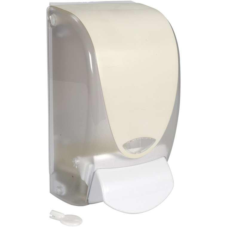 Dispenser, White Classic, til patron refill, hvid, 1000 ml,