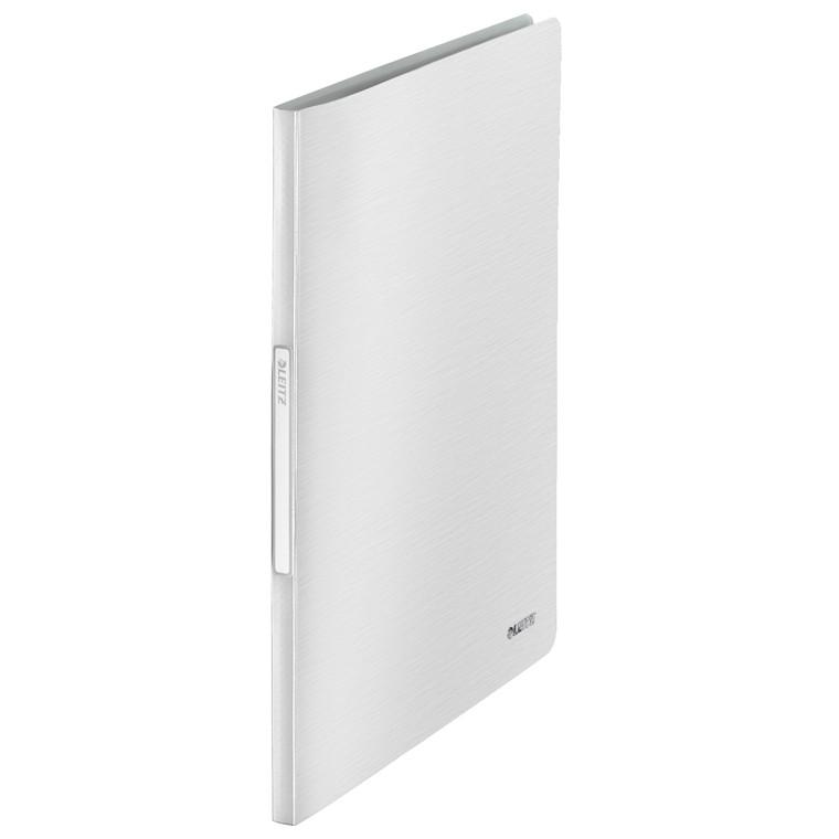 Præsentationsmappe A4 med 20 lommer Leitz Style - Hvid