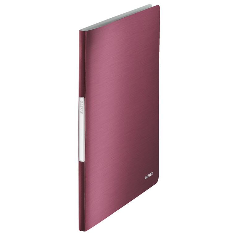 Leitz Style præsentationsmappe A4 med 40 lommer - Rød