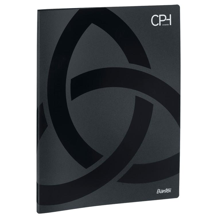 Bantex CPH præsentationsmappe A4 med 20 lommer - Sort