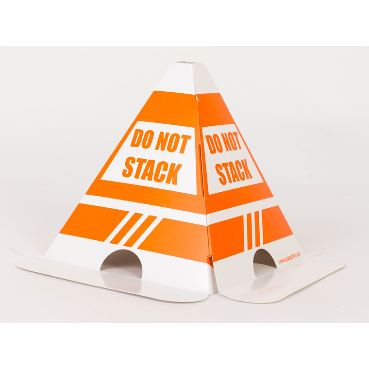 Skilt - Do not stack top