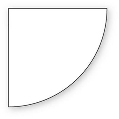 Dug, Dunicel, rund, hvid, 240 cm