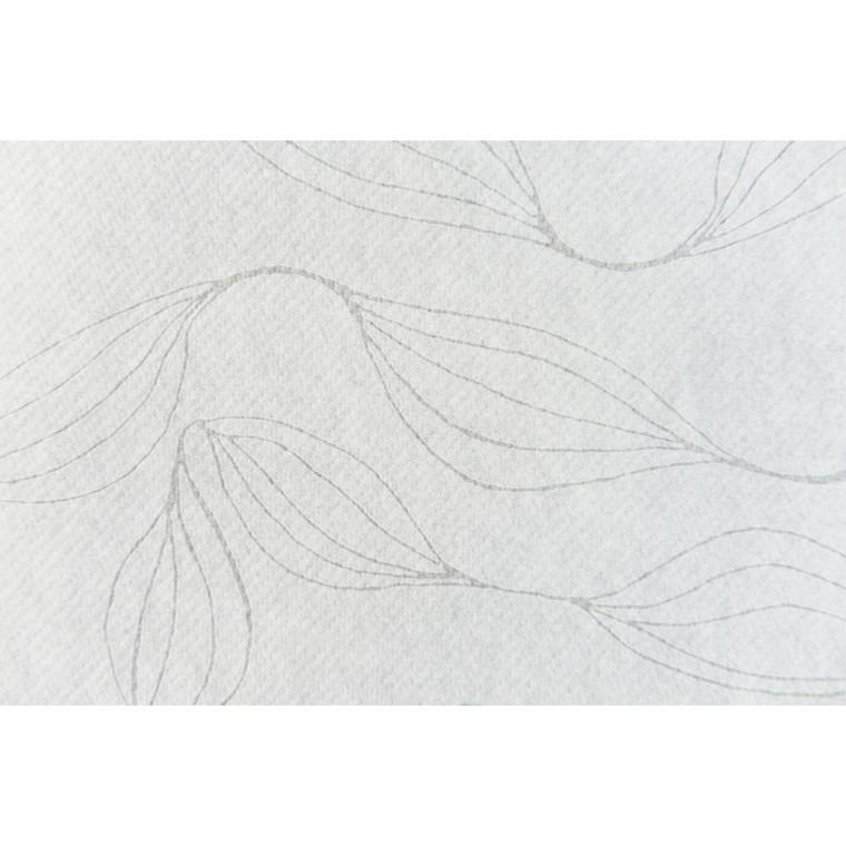 Dug, Polysoft, lamineret, hvid, 100% nyfiber,  120cm x 2.500cm,