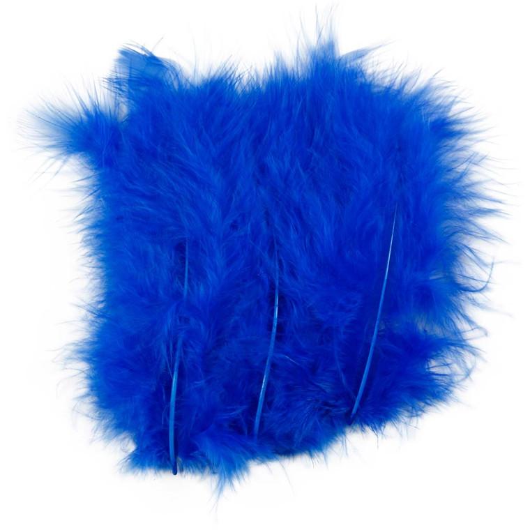 Dun størrelse 5-12 cm blå - 15 stk.