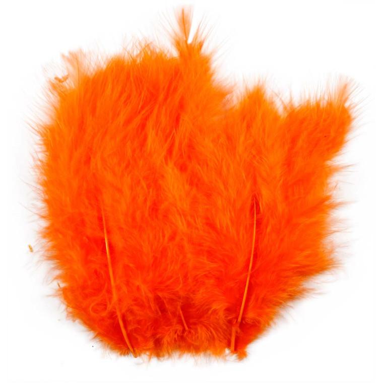 Dun størrelse 5-12 cm orange - 15 stk.