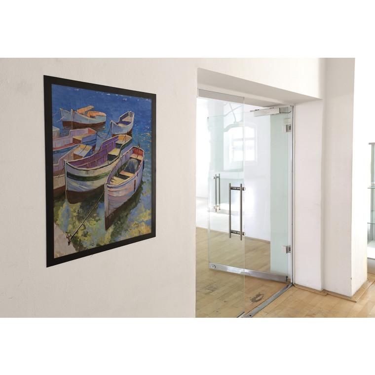 DURAFRAME® Skilt - 50 x 70 cm Poster med sort ramme