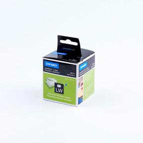 Dymo LW Addressing labels 28x89 permanent white (2x130)