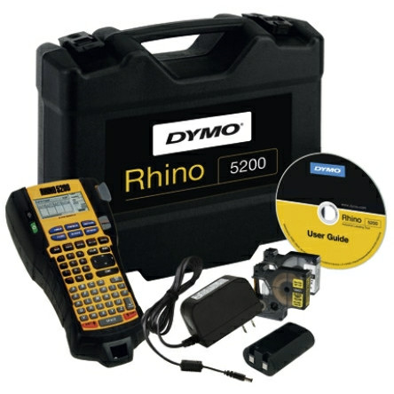 Dymo Rhino 5200 - Sæt med kuffert