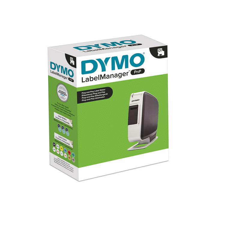 Dymo LabelManager PNP black/silver