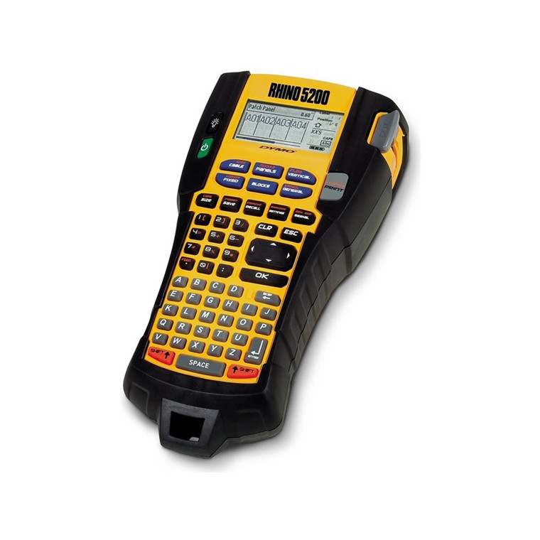 Dymo LabelManager Rhino 5200 pro label machine