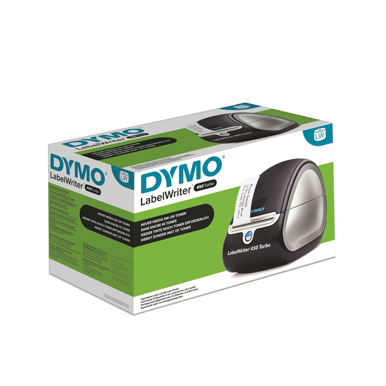 Dymo LabelWriter 450 Turbo black/silver