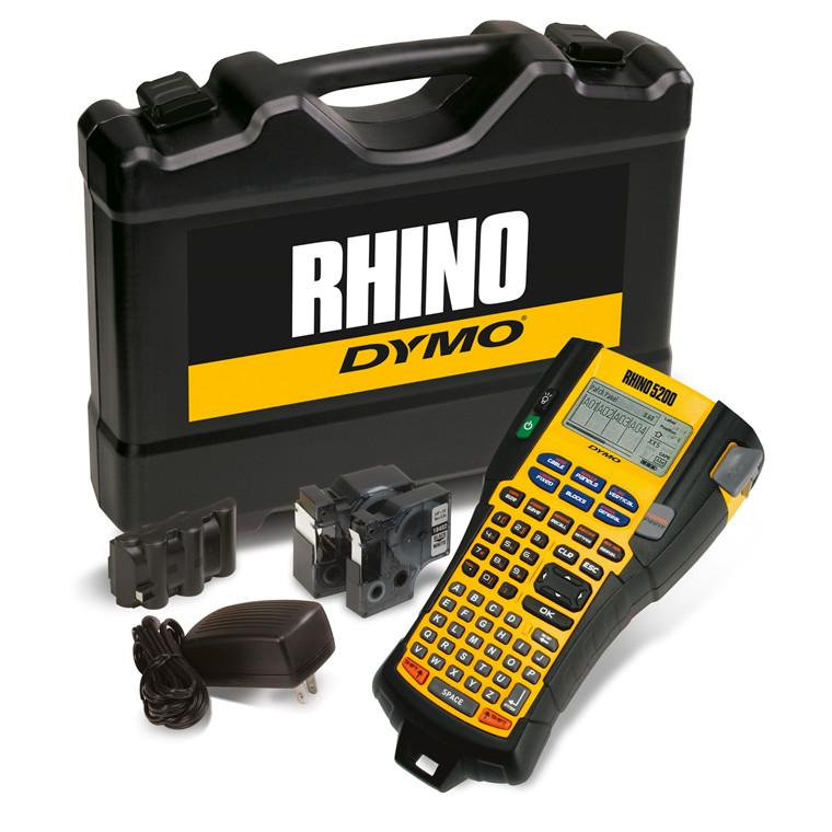DYMO Rhino 5200 - Labelmaskine kuffertsæt med tilbehør