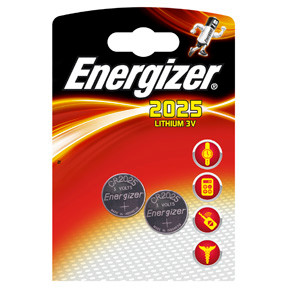 Energizer Lithium CR2025 3v (2)