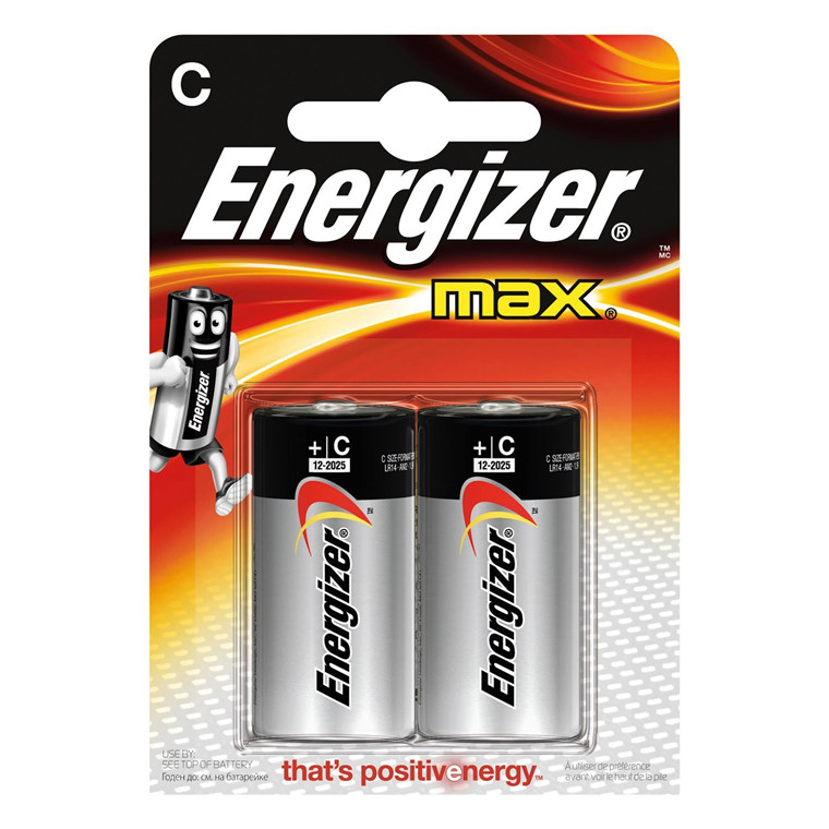 Energizer MAX C/E93 (2-pack)