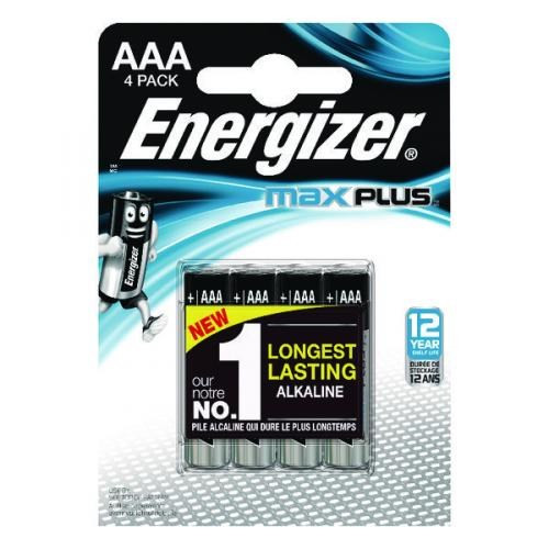 Energizer Max Plus AAA/E92 (4-pack)