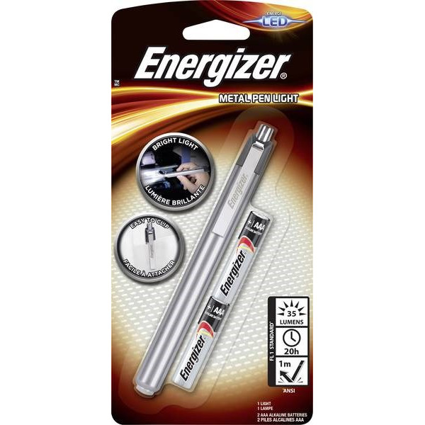 Energizer Metal Penlight LED