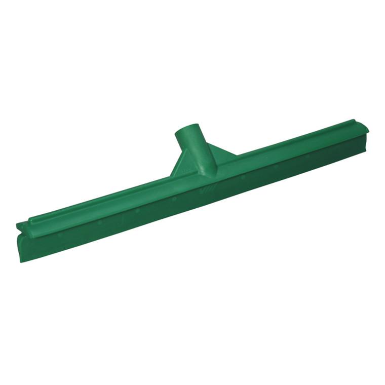 Enkeltbladsskraber, Vikan Hygiejne, grøn, med fast led, 50 cm