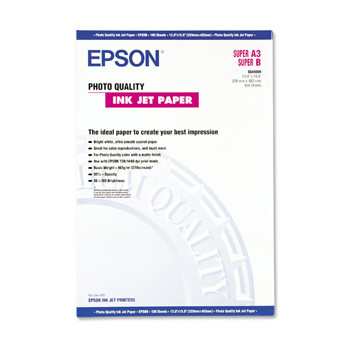 Epson - A2 105 gram photo quality inkjet papir 30 ark