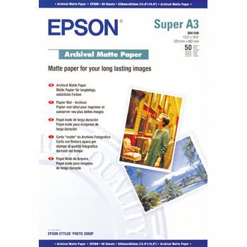 Epson - A3+ archival mat foto papir 50 ark