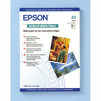 Epson - A3 archival mat papir 50 ark