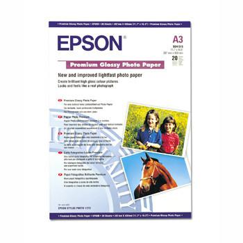 Epson - A3 255 gram premium glossy photo papir 20 ark