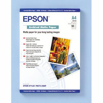 Epson - A4 archival mat papir 50 ark