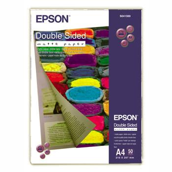 Epson - A4 dobbelt sidet mat papir 50 ark