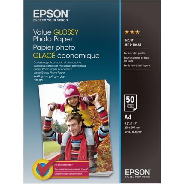Epson -  A4 Value Fotopapir - 50 ark