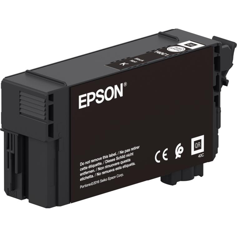 Epson SureColor SC-T3100N/5100 UltraChrome XD2  Black Ink 50ml