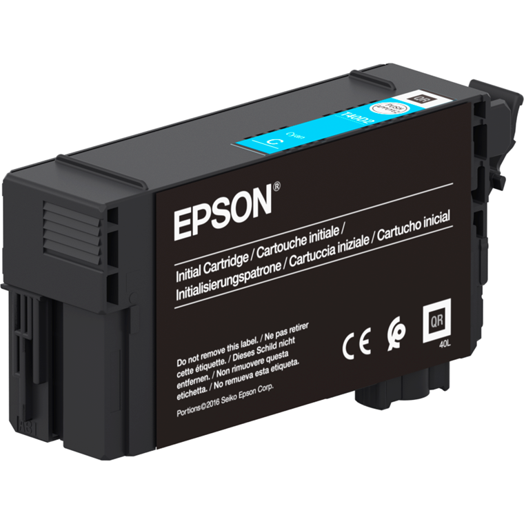 Epson SureColor SC-T3100N/5100 UltraChrome XD2  Cyan Ink 50ml