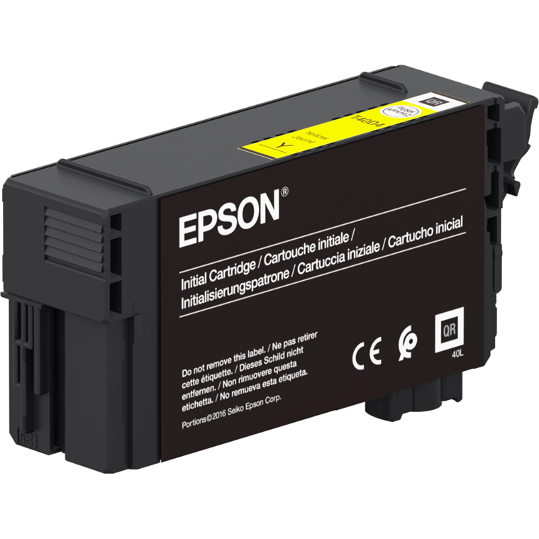 Epson SureColor SC-T3100N/5100 UltraChrome XD2  Yellow Ink 50ml