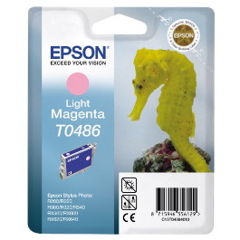 Epson T0486 Light Magenta Cartridge