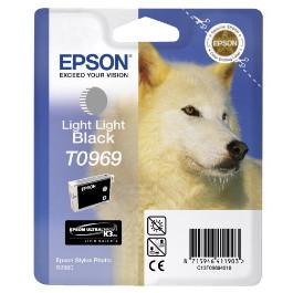 Epson T0969 Light Light Black Ink Cartridge