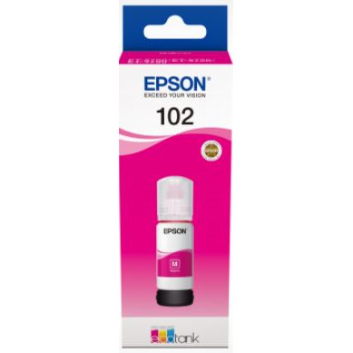 Epson T102 EcoTank Magenta Ink bottle