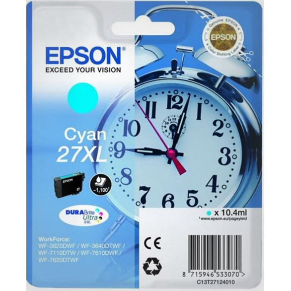 Epson T2712 Cyan Ink Cartridge XL
