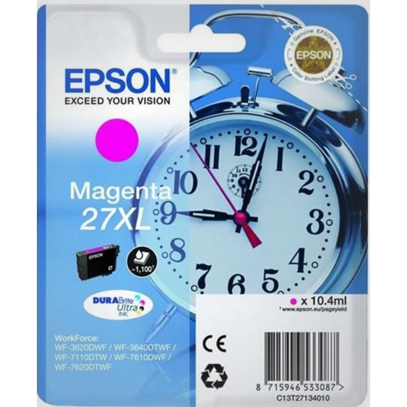Epson T2713 Magenta Ink Cartridge XL