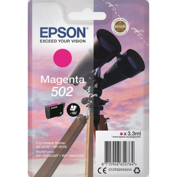 Epson T502 Magenta Ink Cartdridge