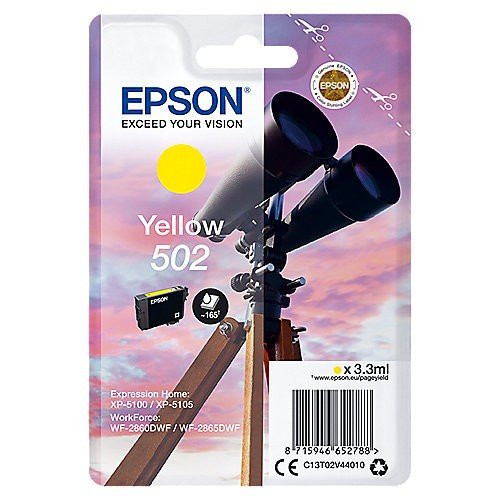 Epson T502 Yellow Ink Cartdridge