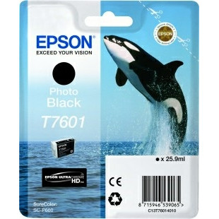 Epson T76014010 Photo Black Ink Cartridge