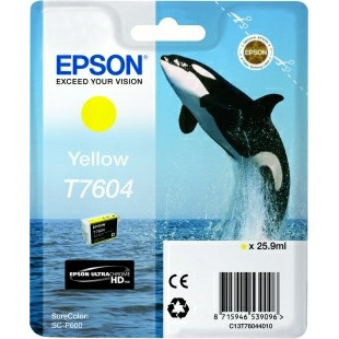 Epson T76044010 Yellow Ink Cartridge