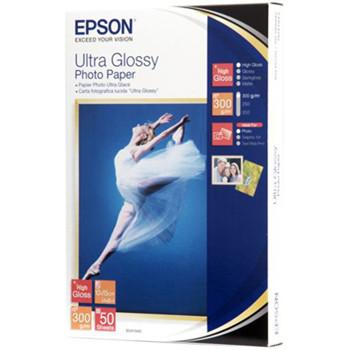 Epson - Ultra Gloss Foto papir 10 x 15 cm - 50 ark