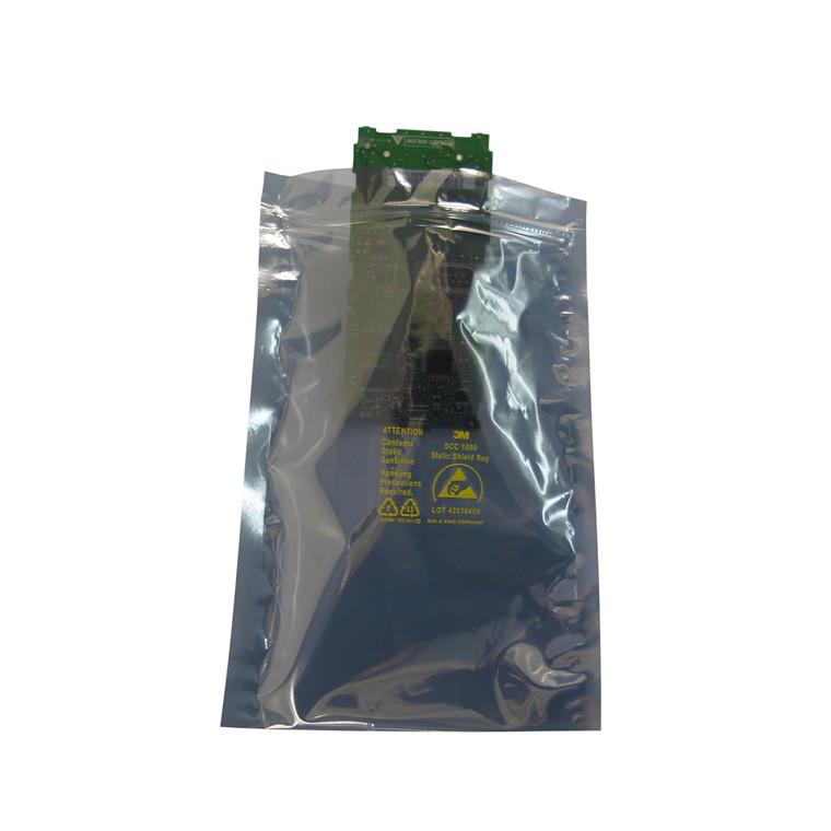 ESD shielding pose 203 x 305 mm med lynlås - 8x12 100 stk i pakken