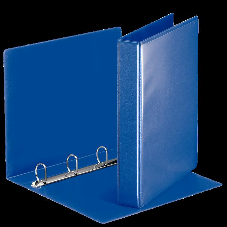 Esselte A4 hobbymappe med 51 mm ryg og 4 ringe - Blå 49715